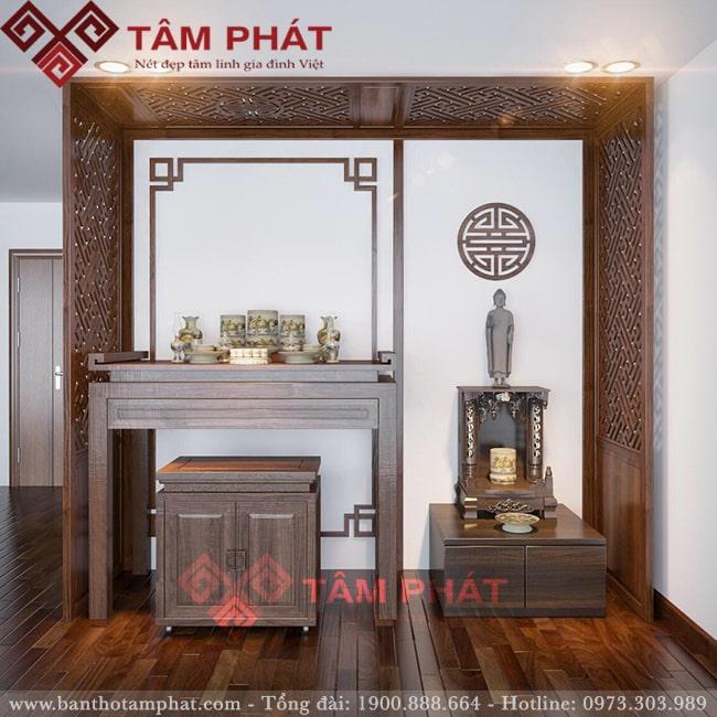 Feedback lắp bàn thờ từ chị Loan cc Thành Thái, Q10, HCM