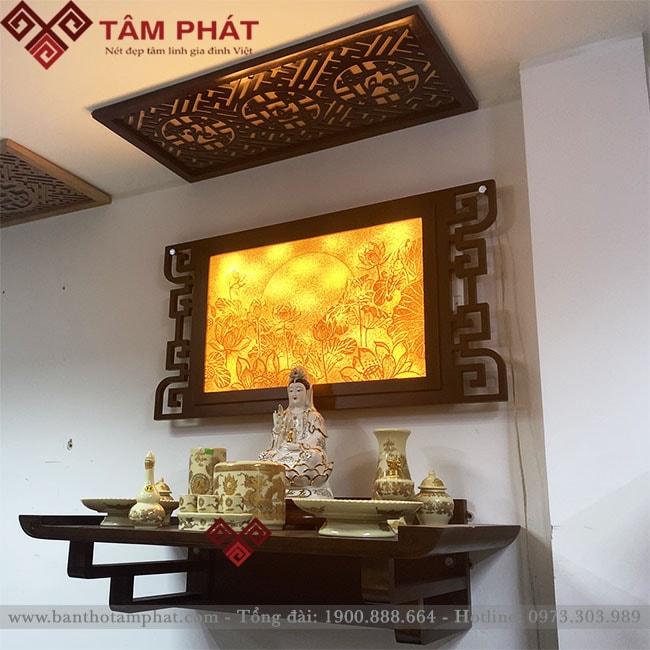Feedback bàn thờ gia đình chị Giang chung cư mini Xuân Đỉnh, Hà Nội