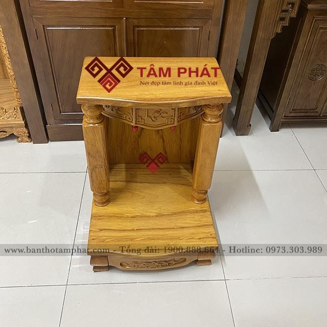 Bàn thờ thần tài đơn giản mẫu BTT3303