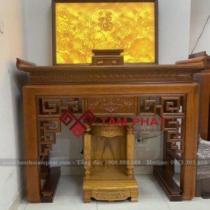 Bàn thờ gỗ Gụ mẫu BT-1068