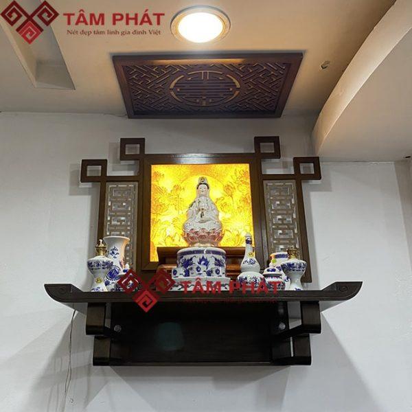 Bàn thờ Phật treo tường mẫu TT2094