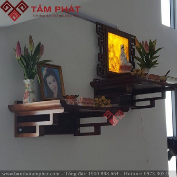 Bàn thờ treo tường 2 tầng mẫu TT0097