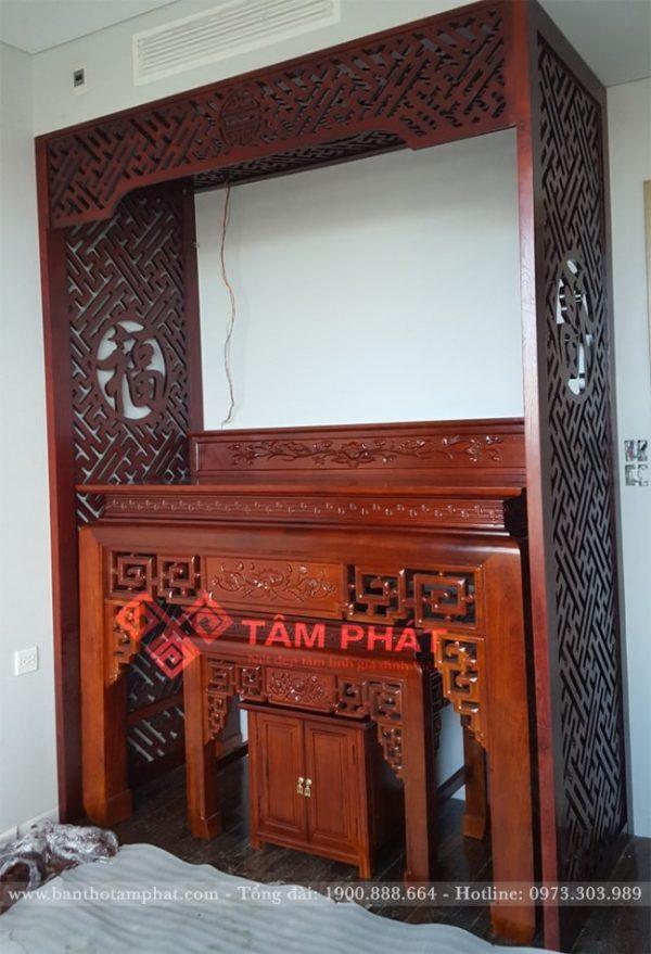 Mẫu bàn thờ 2 tầng BT0188