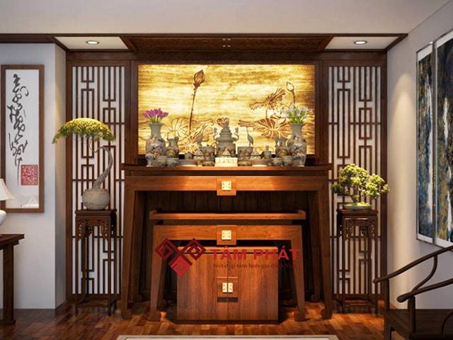 Feedback bàn thờ từ gia đình anh Trung CC Mỹ Đức Thành phố Hồ Chí Minh