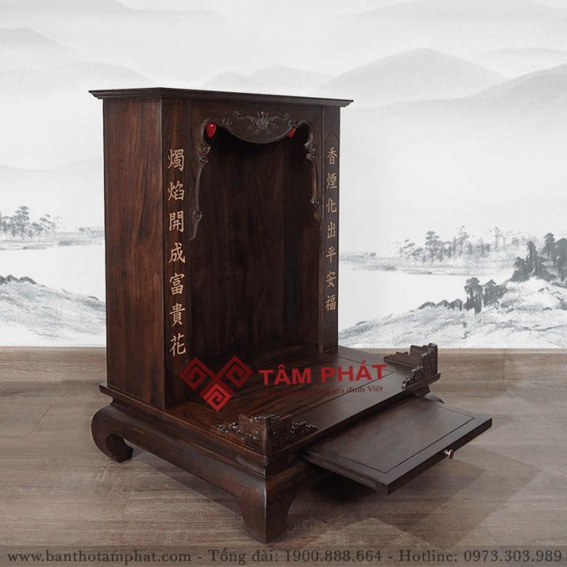 Bàn thờ Thần Tài mái bằng mẫu TT3305