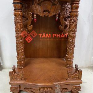 Bàn thờ Thần Tài gỗ gõ mẫu BTT3308