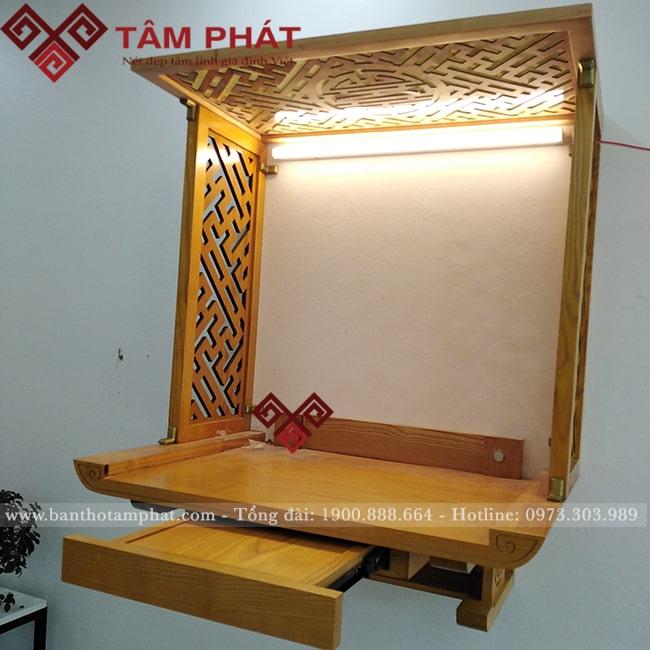 Feedback bàn thờ từ gia đình anh Tâm chung cư 9 View 60m2 tại Sài Gòn