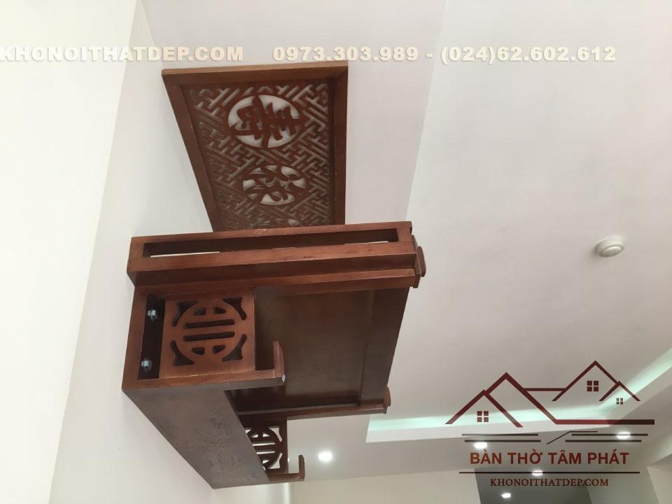 Đánh giá cảm nhận bàn thờ gỗ treo tường TT007 tại Tâm Phát