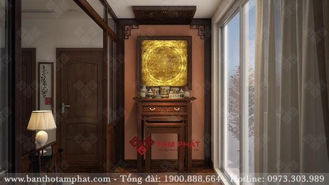 Feedback bàn thờ căn hộ 90m2 chung cư Akari City, Bình Tân