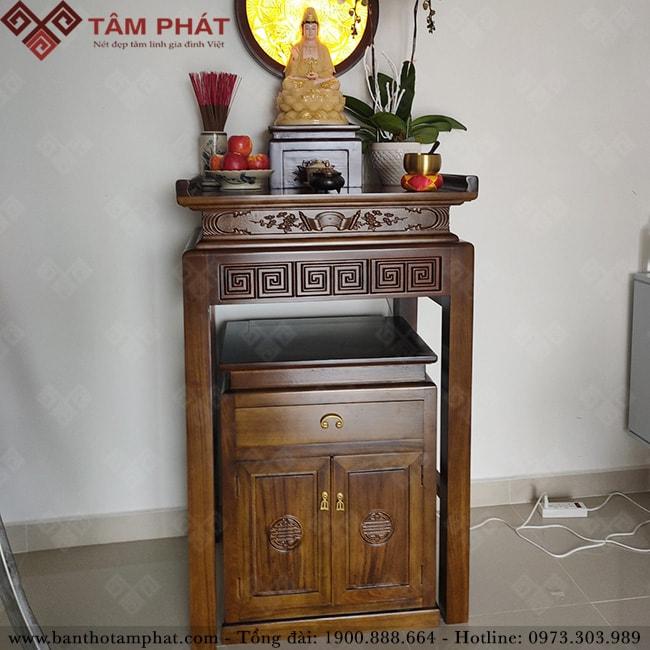 Bàn thờ Phật BT-1106 đơn giản và thanh thoát