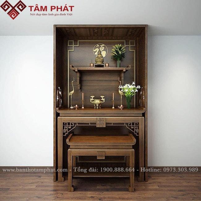 Feedback bàn thờ căn hộ 104m2 tòa nhà Diamon Goldmark City