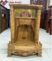 Feedback lắp đặt bàn thờ tại showroom 96m2 cc Leman Luxury TP HCM