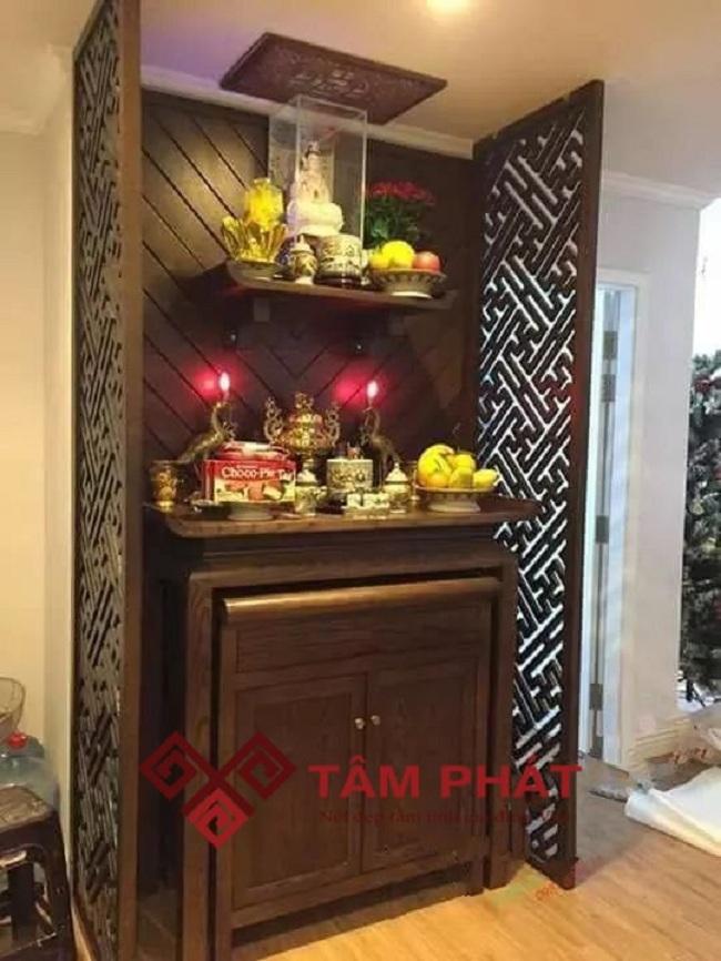 Feedback lắp bàn thờ chung cư 80m2 Central Premium TP HCM