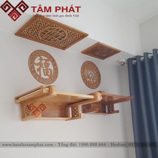 Feedback lắp đặt bàn thờ tại căn hộ 90m2 Sunview Town Tp HCM