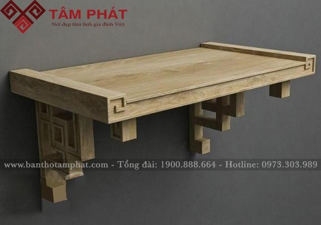 Mẫu bàn thờ TT0052 rất phù hợp với không gian căn hộ tôi sinh sống