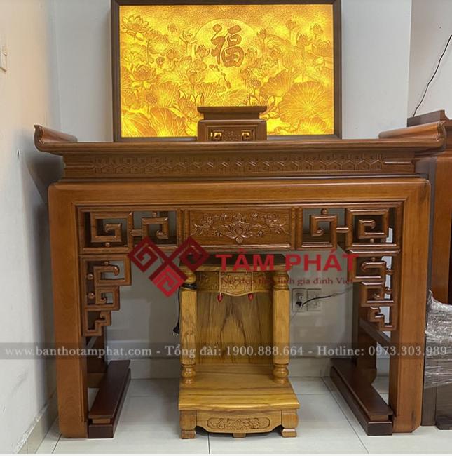 Review bàn thờ căn hộ 120m2 chung cư The Emerald, Hà Nội