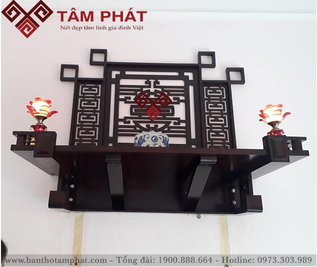 Lắp bàn thờ cho căn hộ 72m2 chung cư Star Xuân Đỉnh, Hà Nội