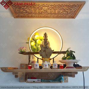 Bàn thờ Phật đơn giản TT2095