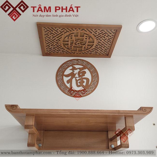Feedback lắp đặt bàn thờ chung cư 80m2 Florita, TP HCM