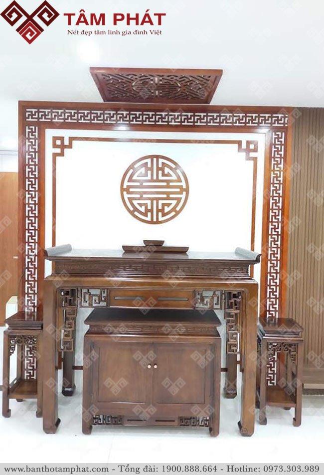Feedback lắp đặt bàn thờ cc 80m2 Jamila Khang Điền TP HCM