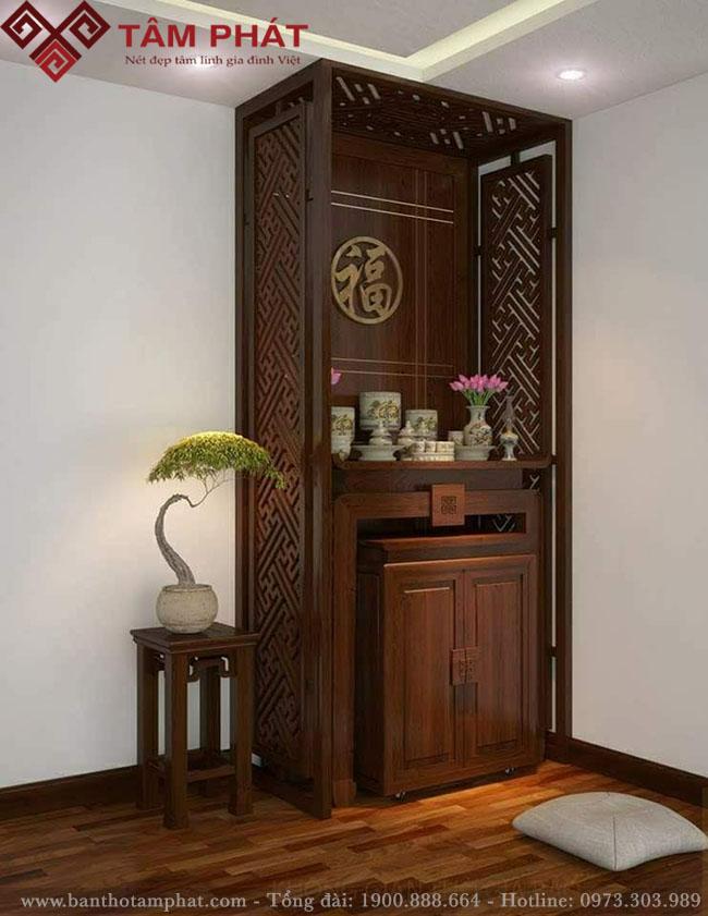 Mẫu bàn thờ hiện đại BT0065 tại kho nội thất đẹp bàn thờ Tâm Phát