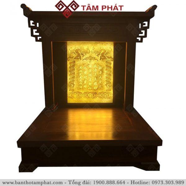 Mẫu bàn thờ Thần Tài - Ông Địa BTT-3311