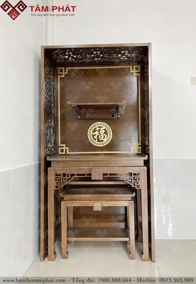 Mẫu bàn thờ đẹp BT085 được nhiều Khách hàng lựa chọn