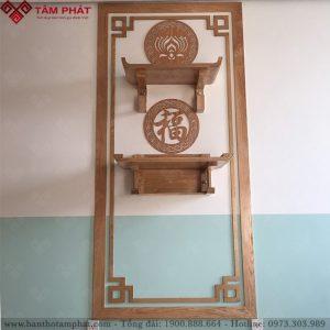 Bàn thờ treo tường 2 tầng mẫu TT2099