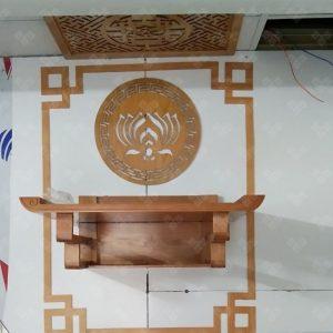 Bàn thờ treo đơn giản mẫu TT0073