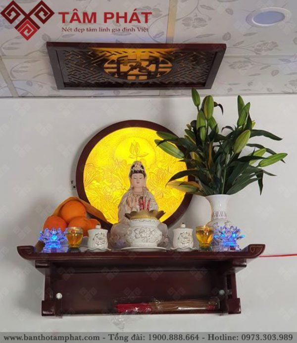 Trang thờ Phật Bà Quan Âm mẫu TT2096