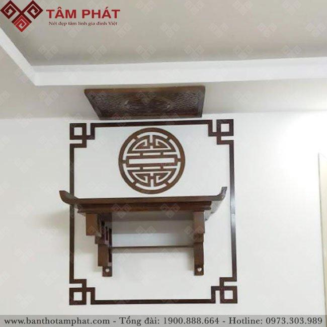 Feedback lắp bàn thờ từ chị Tươi cc Usilk Văn Khê, Hà Đông