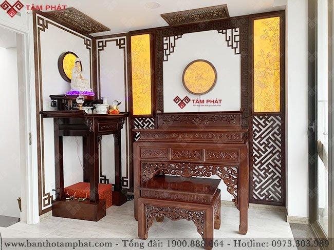 Phòng thờ Phật và gia tiên mẫu BT-1129